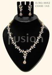 AD Wedding Necklace Set