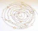 Clear Quartz Rosary Chain