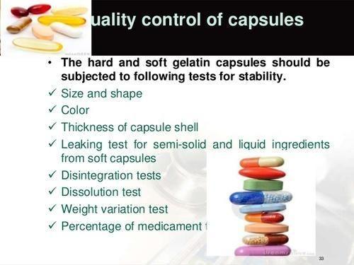 Capsules Testing