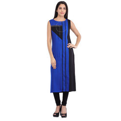 Cottinfab Women's Embroidered Kurta