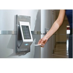 Elevator Card and Biometric Access Control System