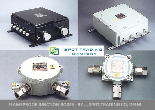 Flameproof  WP Junction Boxes