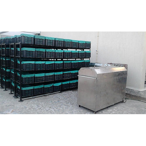 Nachiket's Semi Automatic Batch Composting