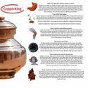 CopperKing Pure Copper Kalsi / Pot - Copper Water Vessel