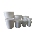 Plain Plastic Paint Containers