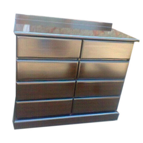 Wooden Cabinet Door Trolley 8 Door Locker Manufacturer From Meerut