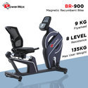 Powermax Magnetic Recumbent Bike (BR900)