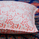 Printed Canvas Cushion Cover