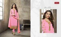 V Neck Pink Mahreen Salwar Suit
