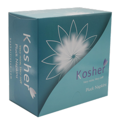 Kosher Pluck Napkins - Green