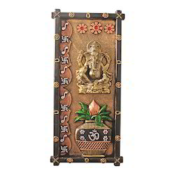 Lord Ganesha With Kalash Wall Hanging Statue Decorative Gift