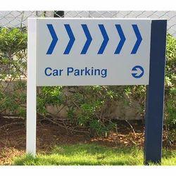 Car Parking Sign Board