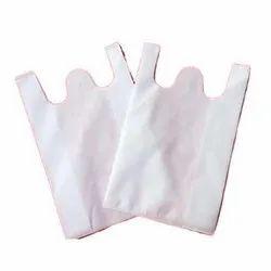 W Cut HDPE Transparent Bag