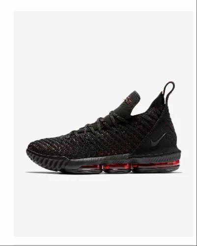 Black Men Nike Lebron 16 Shoes