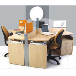 Office Furniture Linear Workstation Manufacturer From Ahmedabad