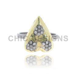 Diamond Designer Mid Ring