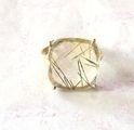 Cubic Zirconium Silver Ring