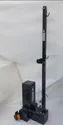 Badminton Pole Movable Square Black
