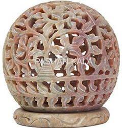 Handmade Soapstone Candle Holder