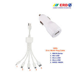 CC 40 Multi 100 White Car Charger
