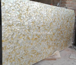 Natural Sea Shell Mother of Pearl Slab