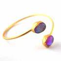 Glass Opal Stone Bangles
