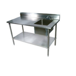 LHS & 2 U/s SS Sink Table