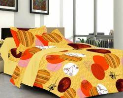 Always Plus Cotton Mulit-Color Double Floral Bedsheet