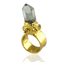 Crystal Cuff Rings