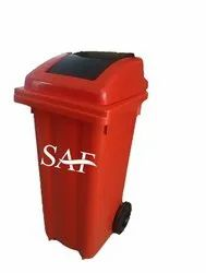 Saf Injection Moulded Bins Two Wheeled