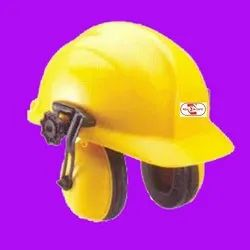 Helmet with Ear Muff