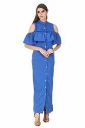 Western Designer Moon Light Shirt Dress