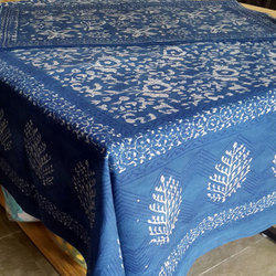 Dabu Bedsheet with 2 Pillow Covers
