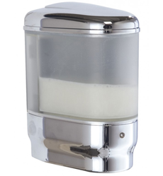 Manual Soap Dispenser - Chrome Finish