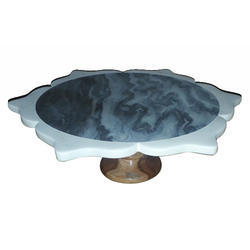 KW-721 Marble Cake Stand