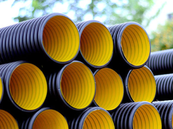 Dwc hdpe corrugated pipe dwc hdpe pipe manufacturer from thane