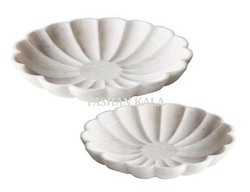 White Marble Bowls