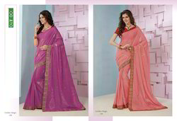 Cotton Embroidery Saree