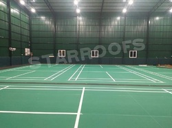 Badminton Court Roofing Shed Works