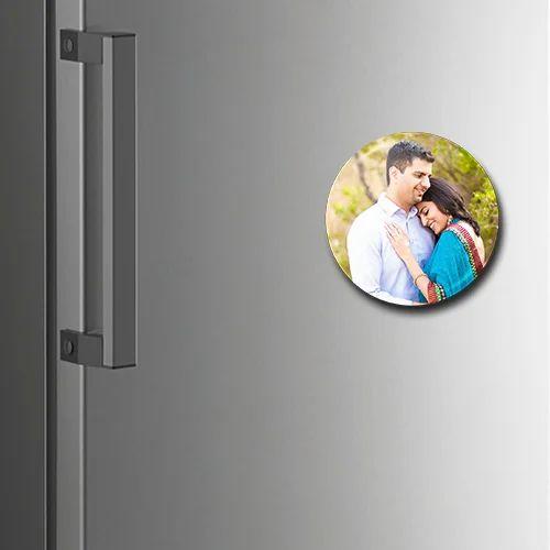 personalized fridge magnet round fridge photo magnet manufacturer