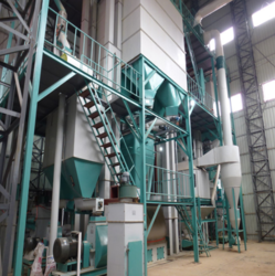 Fully Computerized Cattle Feed Plant