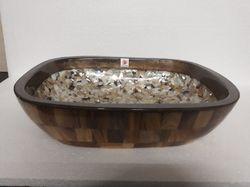 Piazzo Legno Pearl Wash Basins