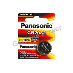 Panasonic CR2032 Coin Batteries