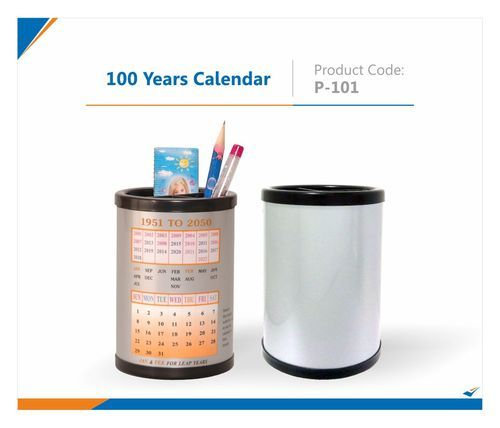 promotional calendars 100 years calendar pen stand exporter from pune