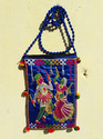 Embroidered Shoulder Bag