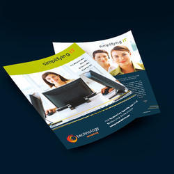 Double Side Leaflets Printing Service