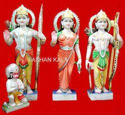 Marble Ram Darbar Colorful