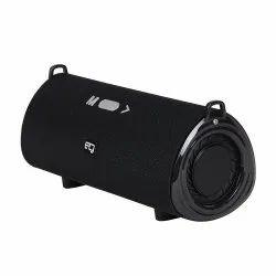 Egate Concord C510 Strap Mini Boom Box Bluetooth Speaker with Bass Radiators (Black)