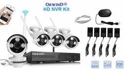 NVR Kit Wireless 4 8 16 Channel IP CCTV WIFI Camera Set