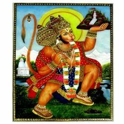 Marble Hanuman Painting